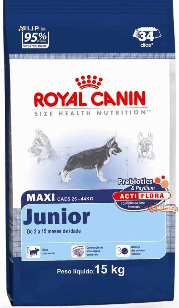 Корм royal canin maxi junior 15кг